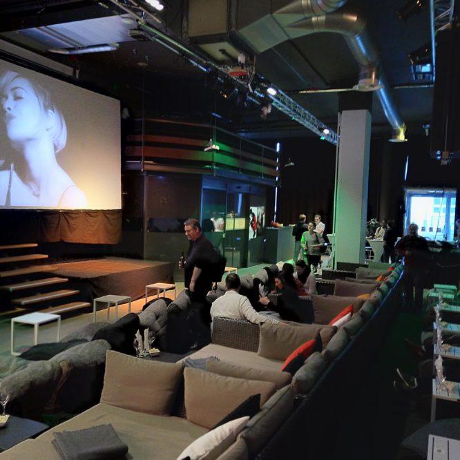 Teamevent im Lounge-Kino in Zürich